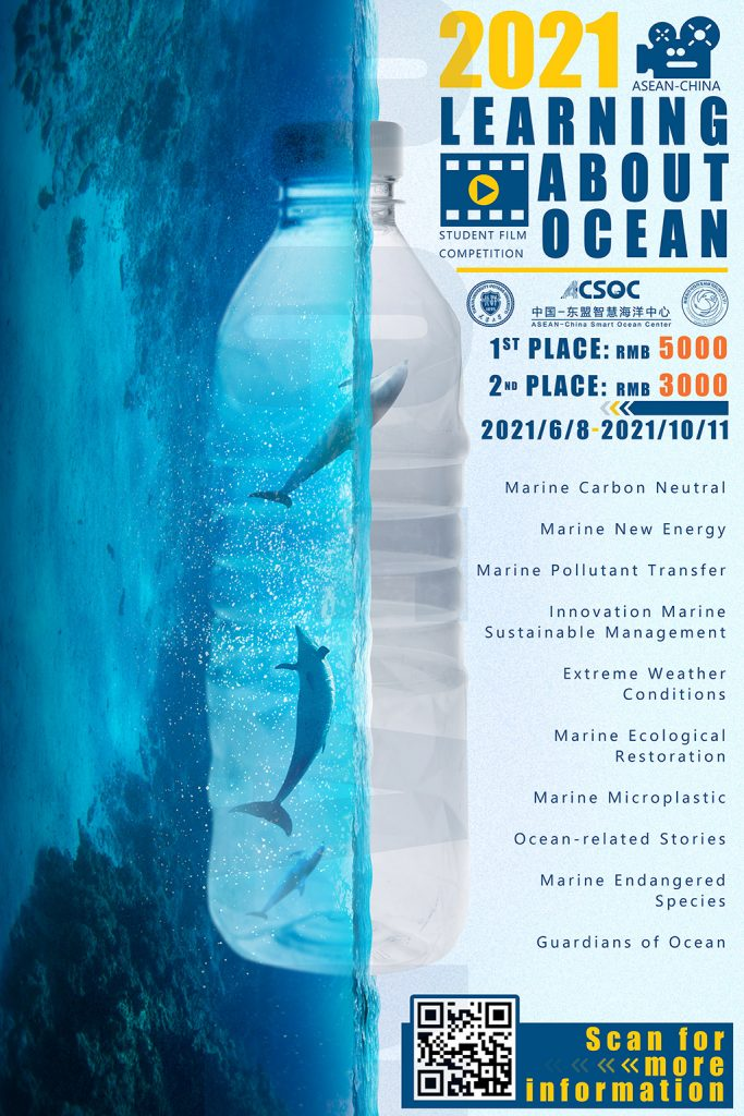 posters 2nd ASEAN-China 'Learning about Ocean' Student Film Competition (2021)